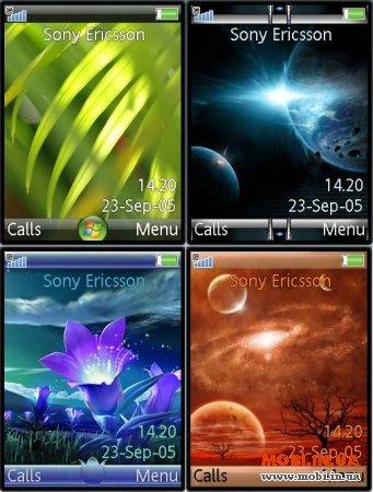 4 Темы Sony Ericsson K790/K800