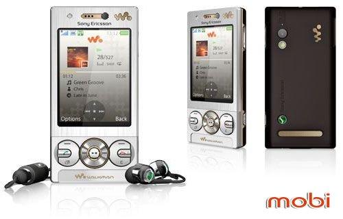 После недель «утечек» Sony Ericsson W705 дебютировал официально