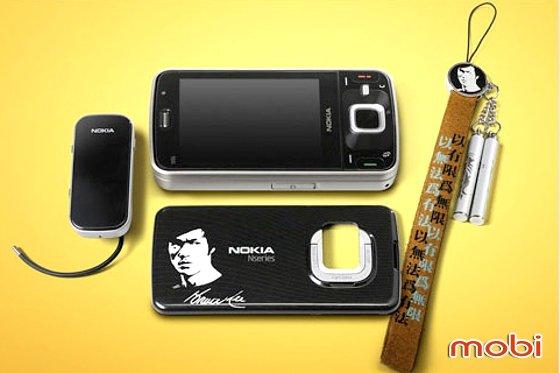 Nokia выпустил tribute-версию смартфона N96 - Nokia N96 Bruce Lee Edition