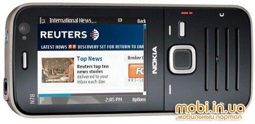 Начало продаж Nokia N78 в США