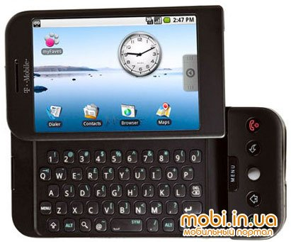 Первый телефон на основе Google Android