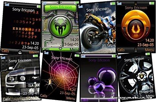 Темы для Sony Ericsson (240x320)