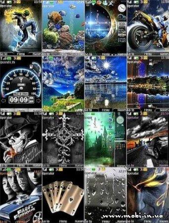 24 темы оформления для NOKIA s40