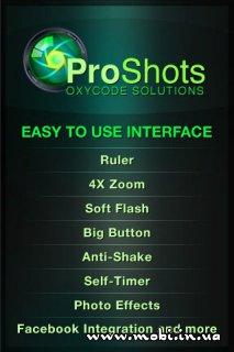 ProShots Camera 1.3.0