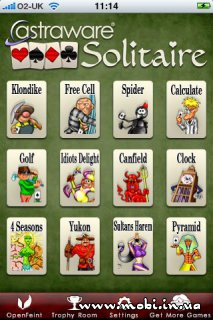 12 Solitaire Games from Astraware 1.50