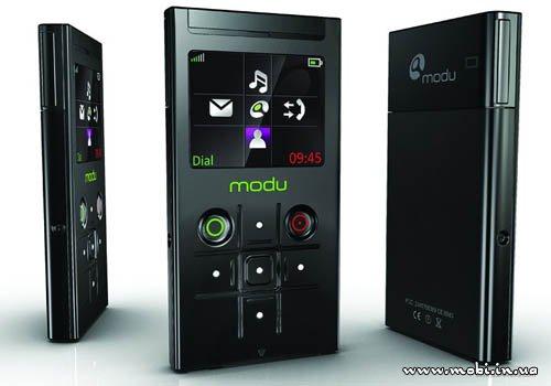 Телефон Modu появился в продаже в Великобритании