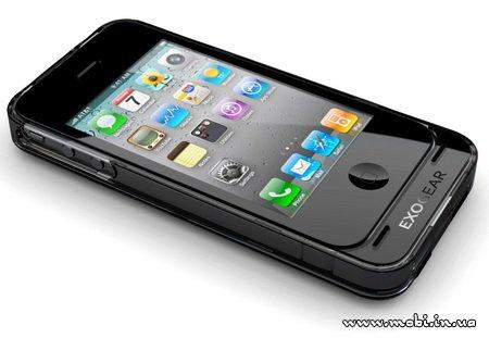 Чехол-зарядка для iPhone 4 от Exogear