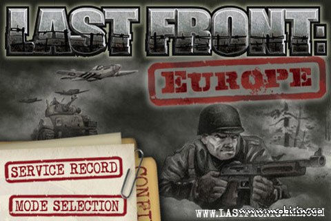 Last Front: Europe 1.04