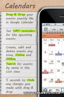Calendars – Google Calendar client 1.0.3