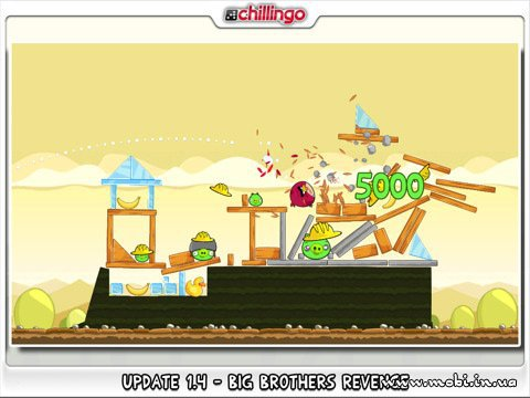 Angry Birds HD for iPad 1.5.0