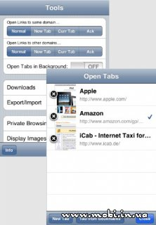 iCab Mobile (Web Browser) 4.2