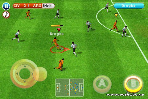 Real Football 2010 HD [Symbian^3]