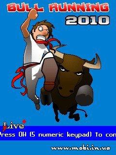 Bull Running 2010