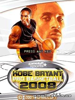 Kobe Bryant Pro Basketball 2008