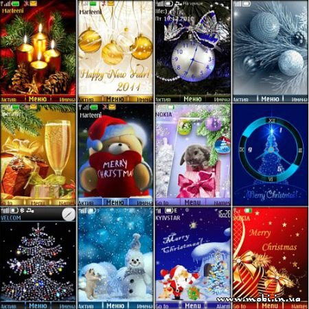 New Year thems for Nokia S40